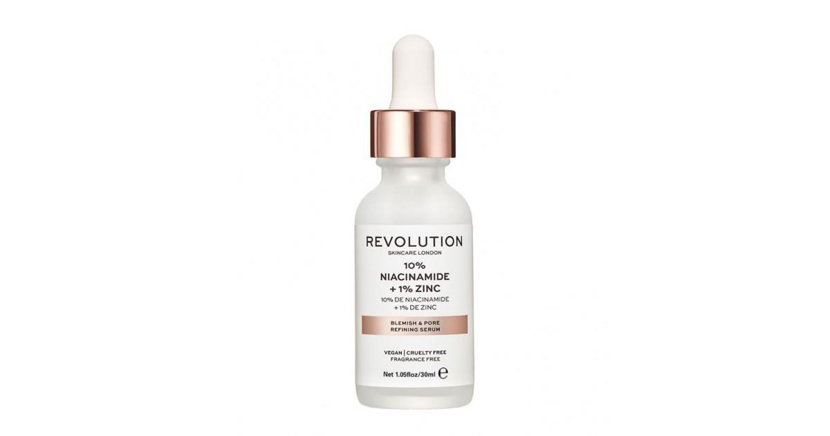 Revolution Skincare - Sérum minimizador de poros - 10% Niacinamida + 1% Zinc