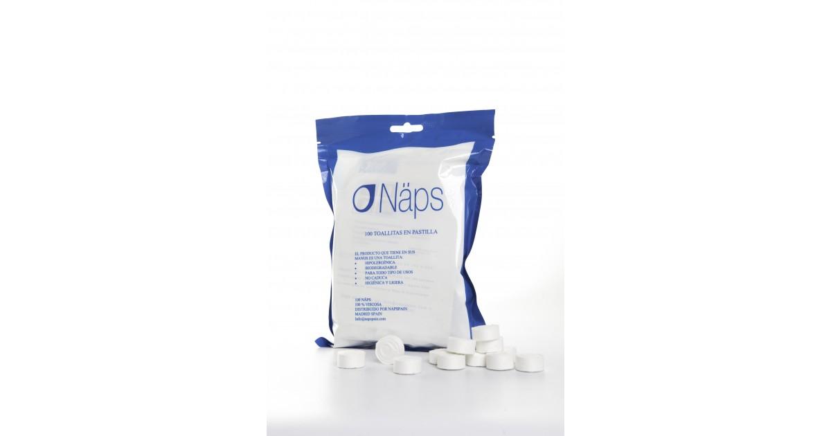 Näps - Toallitas comprimidas - Pack 100 Uds.
