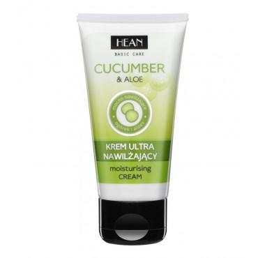 Hean - Crema hidratante Basic Care - Pepino y Aloe Vera