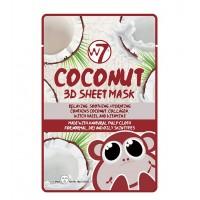 W7 - Mascarilla de Papel 3D - Coconut