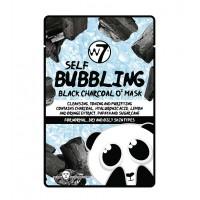 W7 - Mascarilla de papel de Carbón Negro O2 - Self Bubbling