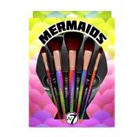 W7 - Colección de Brochas Mermaids