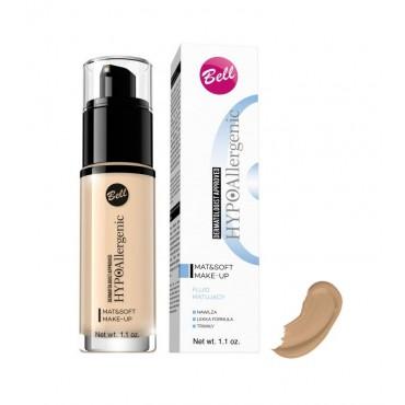 Bell - Base de Maquillaje Matificante Hipoalergénica Mat & Soft - 04: Golden Beige