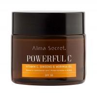 Alma Secret - Powerfull C con Vitamina C, Ginseng & Moringa. SPF30