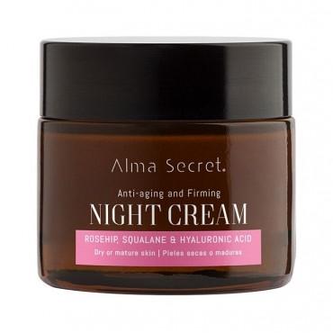 Alma Secret - Multireparadora Noche Antiedad con Rosa Mosqueta, Escualano & Hialurónico