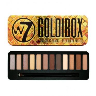 W7 - Paleta de sombras - Goldibox