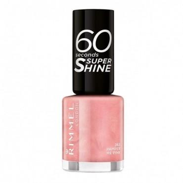 Rimmel London - Esmalte de uñas 60 seconds Super Shine - 263: Pamper me Pink