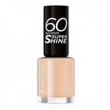 Rimmel London - Esmalte de uñas 60 seconds Super Shine - 513: Let´s Get Nude