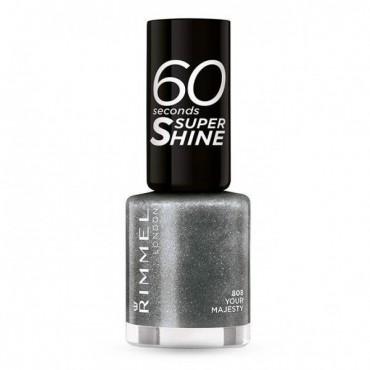 Rimmel London - Esmalte de uñas 60 seconds Super Shine - 808: Your Majesty