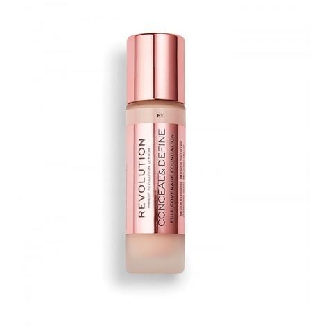 Revolution - Base de maquillaje Conceal & Define - F3