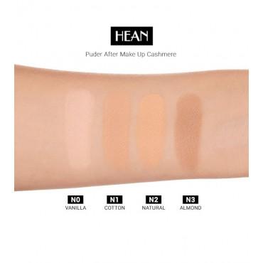 Hean - Polvos Compactos - After Makeup-up Cashmere Powder: Nº0 Vanilla
