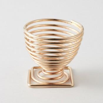 Juno & Co - Soporte en espiral para esponjas - Gold