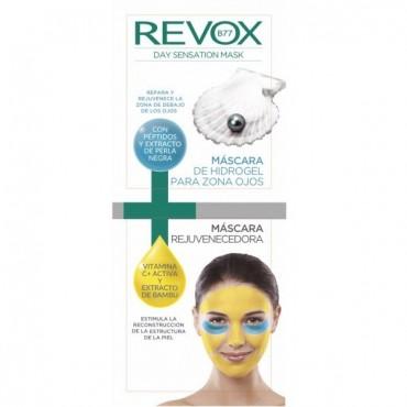 Revox - Day Sensation - Mascarilla Facial + Parche HIdrogel zona ojos
