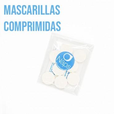 Näps - Mascarilla Facial de papel comprimida - Pack 8 uds