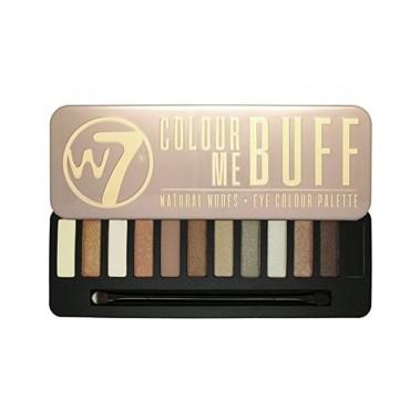 W7 - Paleta de sombras - Colour Me Buff