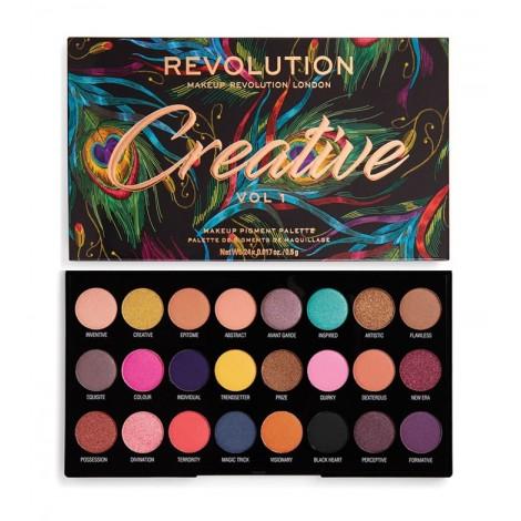 Revolution - Paleta de sombras Creative Vol 1