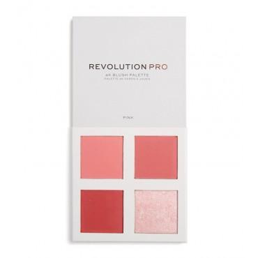 Revolution Pro - Paleta de coloretes 4K - Mauve