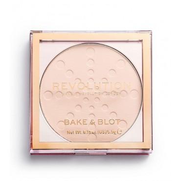 Revolution - Polvos Compactos Bake & Blot - Lace