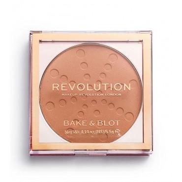 Revolution - Polvos Compactos Bake & Blot - Banana Deep