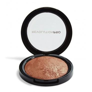 Revolution Pro - Iluminador en polvo Skin Finish - Opalescent