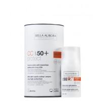 Bella Aurora - CC CREAM Anti-manchas Piel Sensible - SPF50+