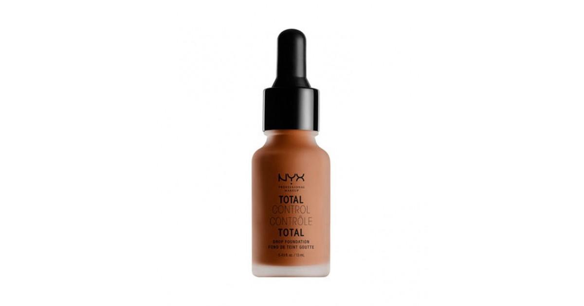 Nyx Professional Makeup - Base de maquillaje fluida Total Control Drop - TCDF20: Deep rich