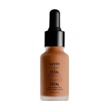 Nyx Professional Makeup - Base de maquillaje fluida Total Control Drop - TCDF19: Mocha
