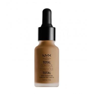 Nyx Professional Makeup - Base de maquillaje fluida Total Control Drop - TCDF18: Deep Sable