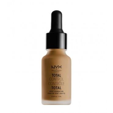 Nyx Professional Makeup - Base de maquillaje fluida Total Control Drop - TCDF17: Capuccino