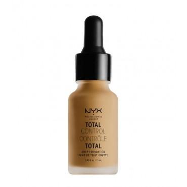 Nyx Professional Makeup - Base de maquillaje fluida Total Control Drop - TCDF15: Caramel