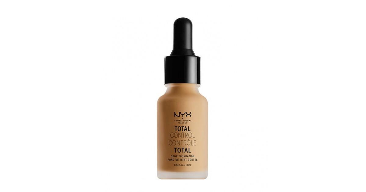 Nyx Professional Makeup - Base de maquillaje fluida Total Control Drop - TCDF14: Golden Honey