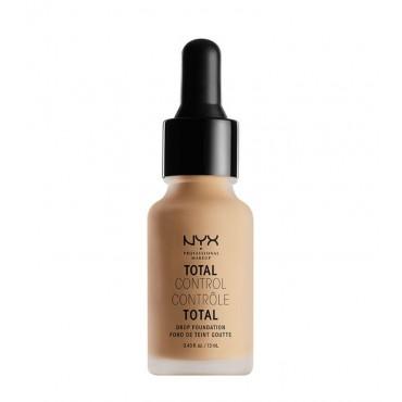 Nyx Professional Makeup - Base de maquillaje fluida Total Control Drop - TCDF09: Medium Olive