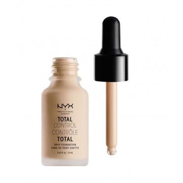 Nyx Professional Makeup - Base de maquillaje fluida Total Control Drop - TCDF06: Vanilla