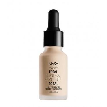 Nyx Professional Makeup - Base de maquillaje fluida Total Control Drop - TCDF02: Alabaster