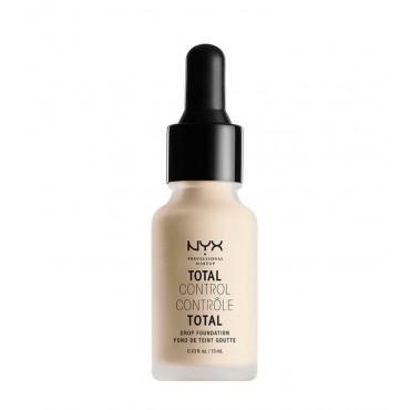 Nyx Professional Makeup - Base de maquillaje fluida Total Control Drop - TCDF01: Pale