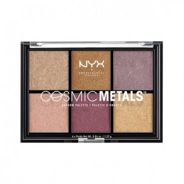 Nyx Professional Makeup - Paleta de Sombras de ojos Cosmic Metals