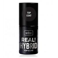 Wibo - Esmalte de uñas - Top Coat Real! Hybrid