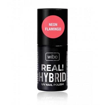 Wibo - Esmalte de uñas Real! Hybrid - 04: Neon Flamingo