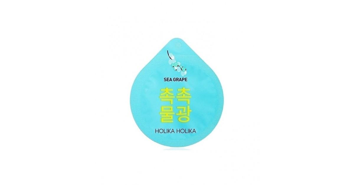 Holika Holika - Mascarilla Superfood hidratante en monodosis - Uva marina