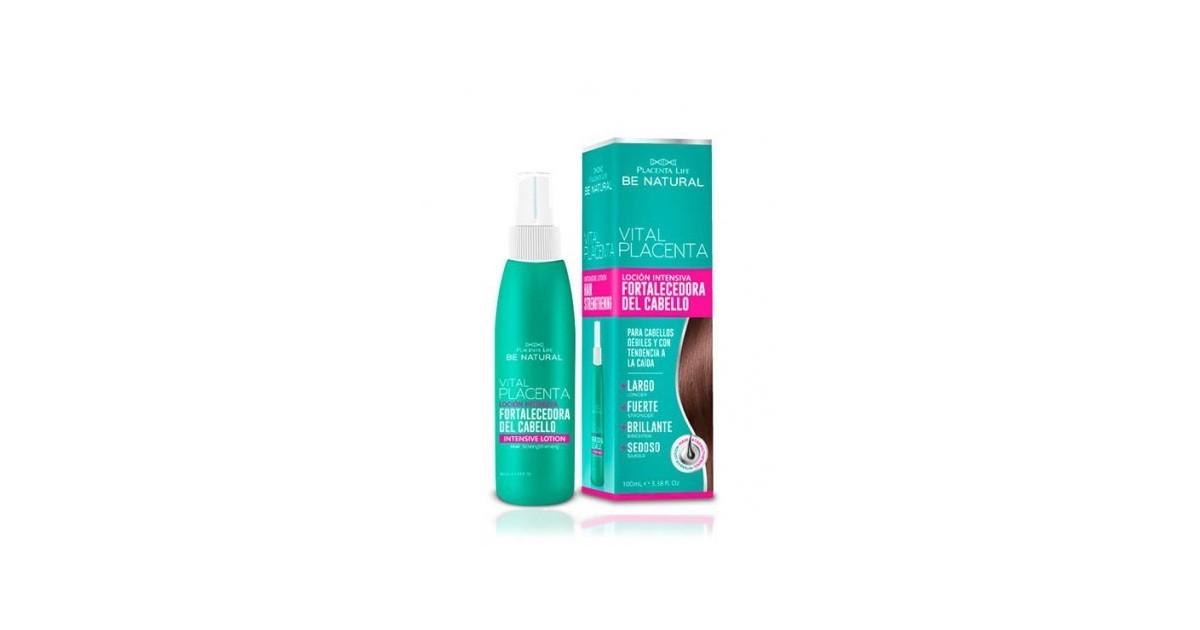 Be Natural - Vital Placenta - Fortalecedor para cabello débil - 100ml