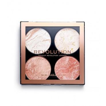 Revolution - Paleta de iluminadores y bronceadores Cheek Kit - Take a Breather