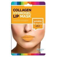 Beauty Face - Máscara de colágeno para labios antiarrugas con Oro y Ácido Hialurónico