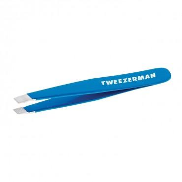 Tweezerman - Mini Pinza Slant - Azul Blue Bahamas