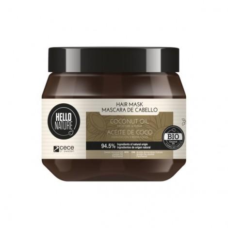 Hello Nature - Mascarilla Aceite de Coco - 250ml
