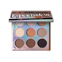 L.A Colors - Paleta de sombras de ojos Beauty Booklet - C30505 Nude