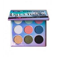 L.A Colors - Paleta de sombras de ojos Beauty Booklet - C30506 Holographic