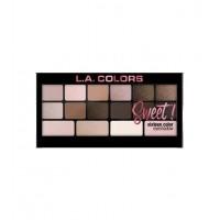 L.A Colors - Paleta de sombras de ojos Sweet! - Charming