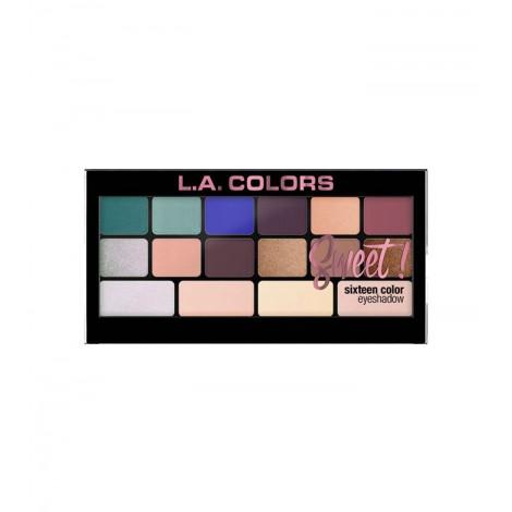 L.A Colors - Paleta de sombras de ojos Sweet! - Playful