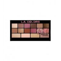 L.A Colors - Paleta de sombras de ojos Sweet! - Brave