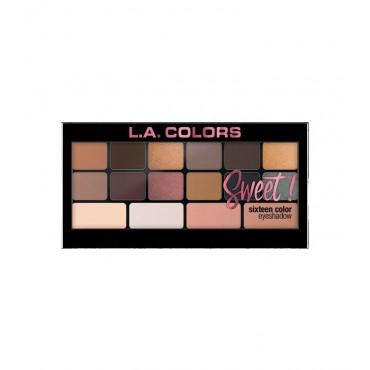L.A Colors - Paleta de sombras de ojos Sweet! - Seductive